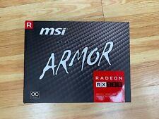 MSI AMD Radeon RX 580 8GB GDDR5 PCI Express Graphics Card