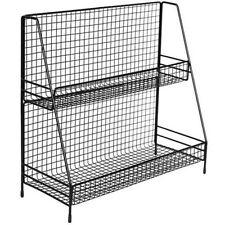 Storage Rack Shelf Grid Desktop Kitchen Bathroom Cosmetic Organizer Practical