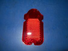 RED PLASTIC TOMBSTONE TAILLIGHT LENS HARLEY DAVIDSON & CUSTOM CHOPPERS 68090-47