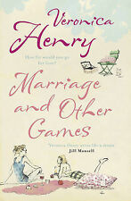Marriage And Other Games by Henry, Veronica Paperback Book The Cheap Fast Free