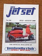 New Jet Set Magazine, Lambretta Great Britain Club, No.106 2000
