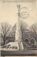 40 - cpa - DAX - Le monument aux morts place Borda