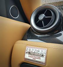 FERRARI f599 alluminio anelli TWEETER GTB HGTE GTO 599xx inizia FIORANO