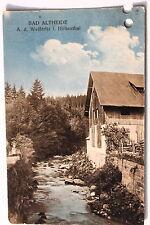 24151 AK Bad Altheide An der Weißtritz im Höllenthal 1913  Schlesien