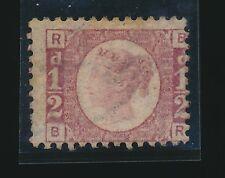 GB QV 1870 HALFPENNY BANTAM Plate 20 BR...MINT UNUSED...SG49...cv £300