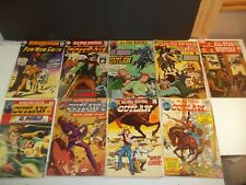 Vintage DC All Star Western Comics 9 Book lot 2-3-4-5-6-7-8-9 & Pow wow Smith #1