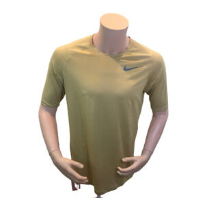 Nike Men DriFit Pro Compression Fitness Athletic Training Shirt TShirt AT3121 L