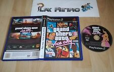 PLAY STATION 2 PS2 GRAND THEFT AUTO VICE CITY SIN MANUAL  PAL ESPAÑA