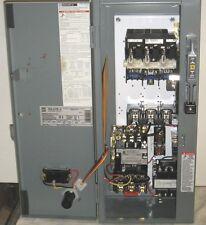 Square D AC Combination Motor Starter 30 Amp 3 Phase Cat # 8538SBG13V81CFF4TX11