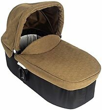 Graco EVO Khaki Baby Carrycot From Birth to 6m Collapsible With Apron