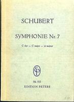 Schubert ~  Sinfonie Nr. 7 C-Dur - Studienpartitur