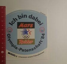Aufkleber/Sticker: Ich bin dabei Olympia Partnerschaft 84 Mars (221216124)