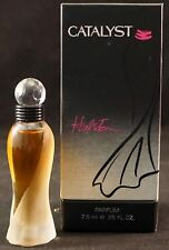 Catalyst by Halston Pure PARFUM .25 ounce Miniature in Box RARE