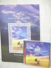 LieN .hack Piano Arrange Collection 2 Score w/Cd Art Book Cc2 Ltd