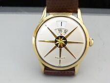 Vintage 1958 Men's Benrus Dial-O-Rama Jump Hour Swiss Mechanical Watch