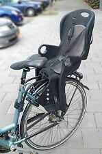 Kinder Fahrradsitz für Gepäckträger mit Reflektor gepolstert Fahrrad Sitz Hinten