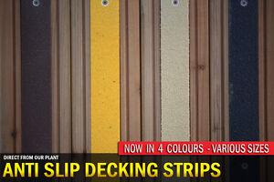 Anti Slip Decking Strips for Slippery Timber Decking Walkways, Paths & Ramps