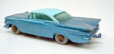 Matchbox RW 57B Chevrolet Impala  graue Räder blaue Bodenplatte selten