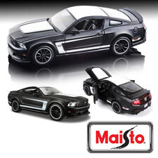 Maisto 1:24 Ford Mustang Boss 302 Diecast Model Car 31269 Xmas Gift Detailed