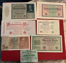 Deutschland Banknoten Lot (5)