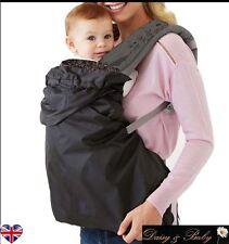 Baby Carrier Cover rain cover wind waterproof sling wrap wearing backpack Uk