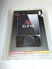 Microsoft Zune 120 Black (120 GB) Digital Media Player sealed new rare