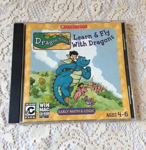 Dragon Tales Learn & Fly With Dragons CD ROM
