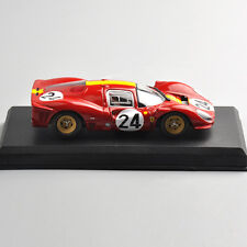 1:43th Ferrari 330 P4 24h Le Mans 1967 Racing Diecast Alloy Car Model Toy 24#