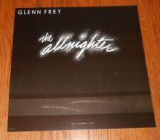 Glenn Frey The Allnighter Poster Flat Square Promo 12x12