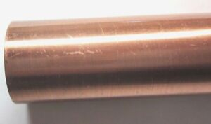 """Copper Outer Tube Sleeve Casing Cover 8-1/4"""" Long, For 1/2"""" Steel Pipe 1 Vintage"""
