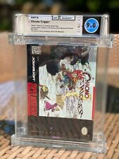 1995 SNES Chrono Trigger Complete CIB WATA 9.0 (A Must-See Collector's Item!)