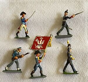 SAE 30mm NAPOLEONIC WAR Toy Lead Soldiers FLAG SWORD Union Of S. Africa