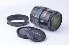 EXC+ MINOLTA MAXXUM AF ZOOM 28-85mm F3.5-4.5 ZOOM LENS, CAPS, HOOD, NICE!!