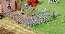 Faller H0 180414 Chain Link Fence with Wood Post NEW