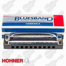 HOHNER BLUES BAND HARMONICA CASE  Key C. GREAT FOR BEGINNERS -