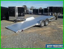 heavy aluma 8218 h Tilt carhauler trailer equipment gravity tilt 7 x 18 aluminum