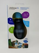Lifestraw Play Kids Water Filter Bottle with 2-Stage Filter Straw