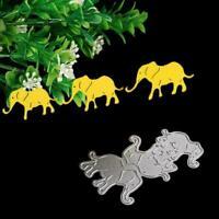 Elephant Cutting Dies Stencil Scrapbooking Album Paper Art Craft Card Embos I5I7