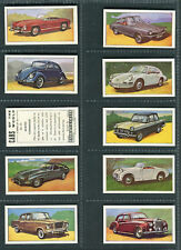 BARRATT - CARS,SECRET SERVICE,THUNDERBIRDS & WALT DISNEY (2ND) - PICK YOUR CARD