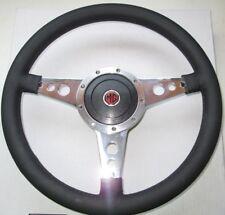 "New 14"" Leather Steering Wheel & Adaptor MGB 1977-1980 Moto-Lita Moto Lita"