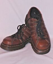 Dr. Martens Distressed Brown Leather Lace Up Oxfords Size 4