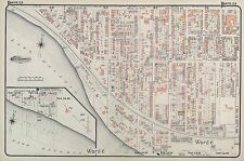 1910, CHARLES E. GOAD, TORONTO, CANADIAN NATIONAL EXHIBITION, COPY ATLAS MAP