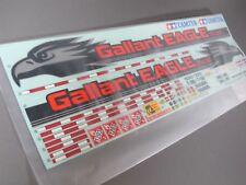 """Tamiya 1/14 R/C Truck Fuel Gas Tank Trailer Gallant Eagle Tanker """"Sticker Decal"""""""