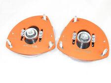 Camber plates for Renault Clio 3 , Nissan Micra 3 adjustable orange