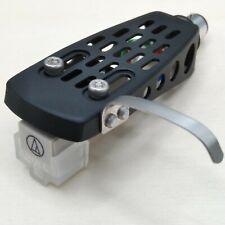 ORIGINAL Audio Technica AT3600L Cartridge+Needle+ BLACK HQ HEADSHELL