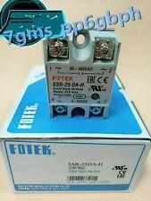 2 PCS NEW FOTEK solid state relay SSR-25DA-H 480V