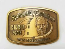 Cilco Gas Operations Company Belt Buckle Springfield Centurions Central Illinois