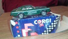 CORGI DIECAST MODEL CAR TRACK JAGUAR GREEN