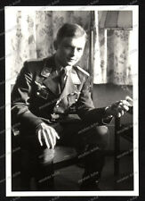 Foto-Stuttgart-Portrait-Soldat-Pilot-Luftwaffe-Frontflug-Spange-1941-25