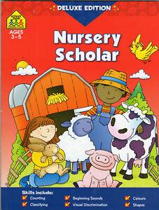Children first math Book Nursery Scholar Maths Science English Book 3-5